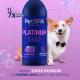 Shampoo Clareador 1L Pet Platinum Pro Banho e Tosa 1:6