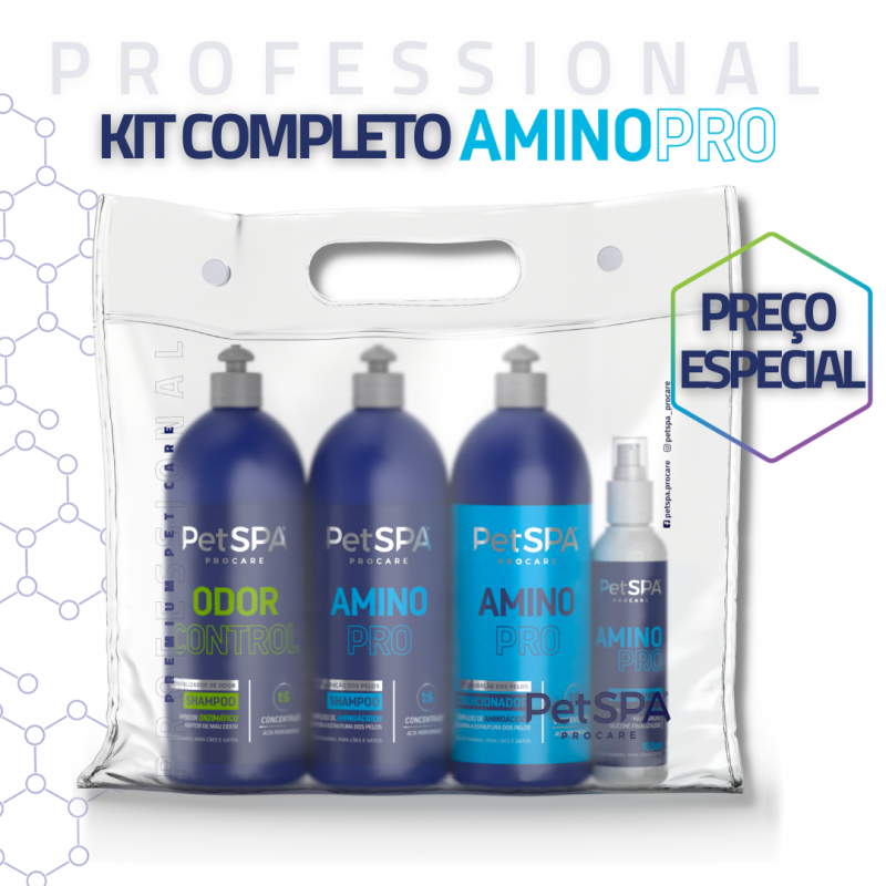 Kit PetSPA Amino Pro 1L