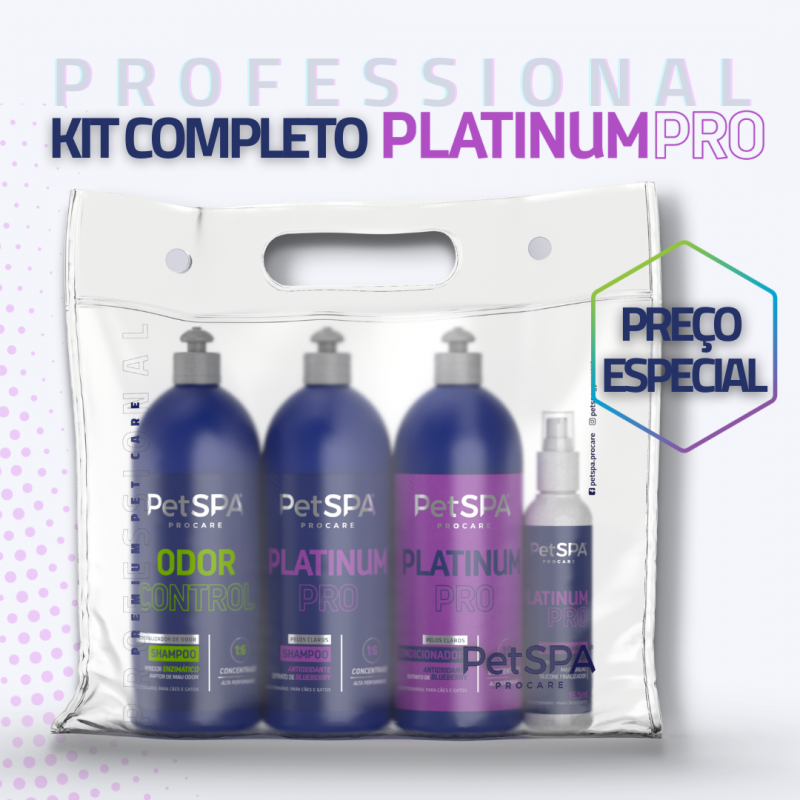 Kit PetSPA Platinum Pro 1L
