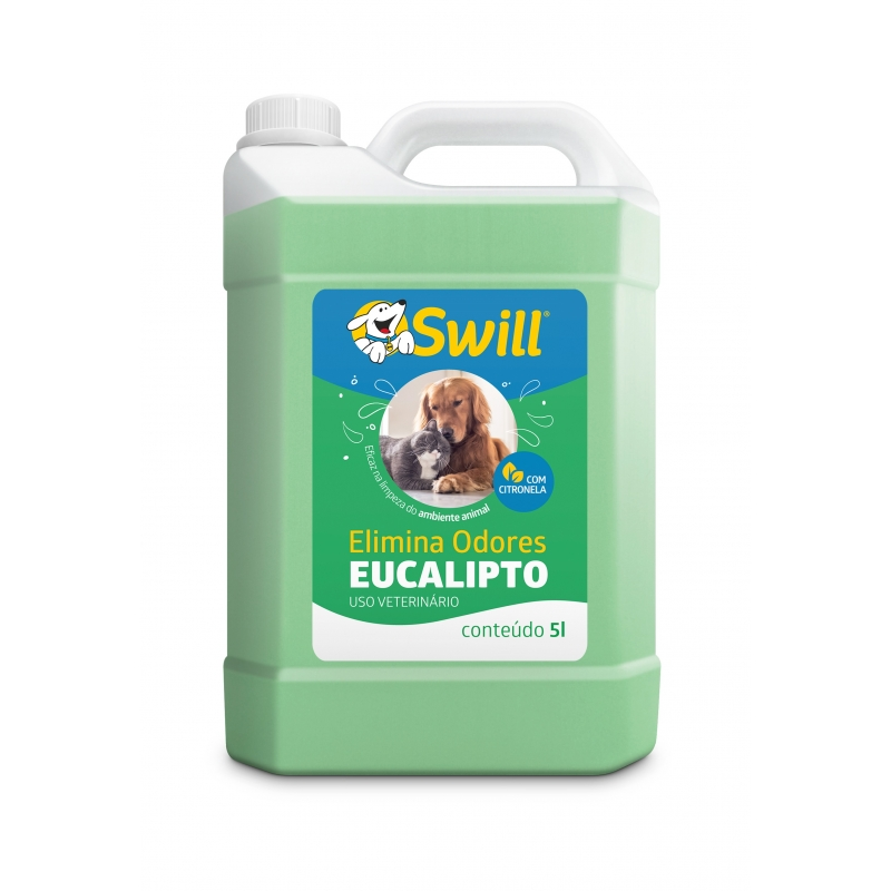 Elimina odores eucalipto 5L